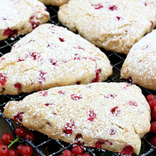 Redcurrant Scones Recipe