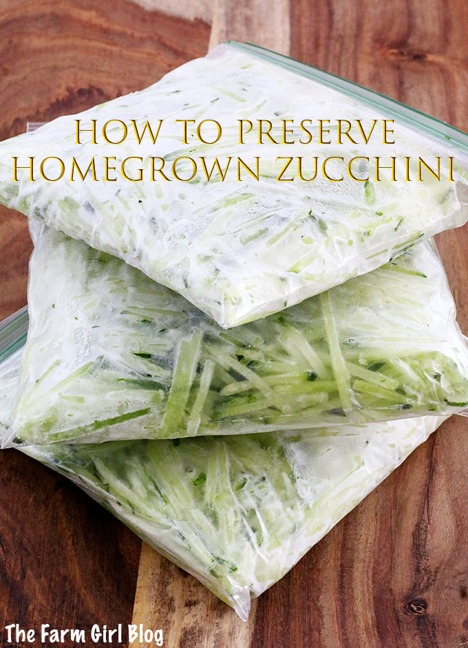 Backyard Gardening, Freezing Grated Zucchini, Great For Baking, Homegrown  Tastes Best, Homegrown