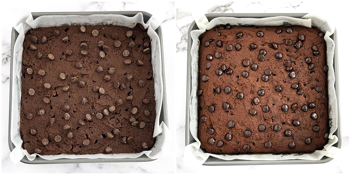 Gluten-Free Double Chocolate Brownies Baking Instructions