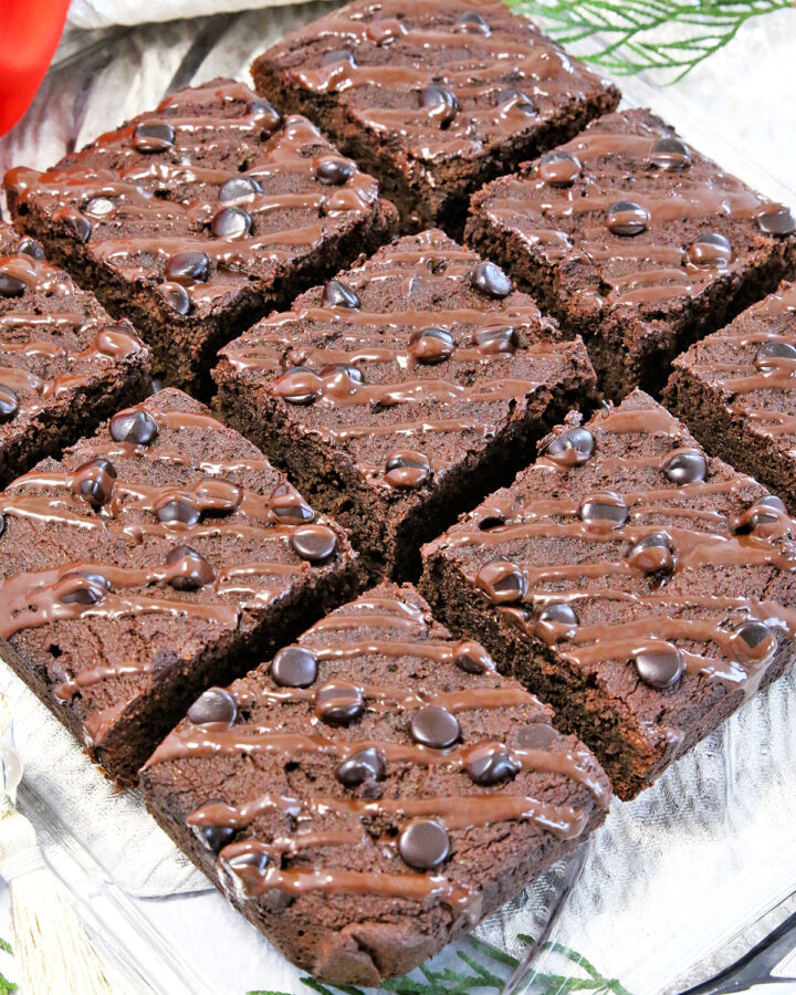 These Gluten-Free Double Chocolate Brownies are super soft, moist, and tasty. A perfect dessert you just might have been craving for!
