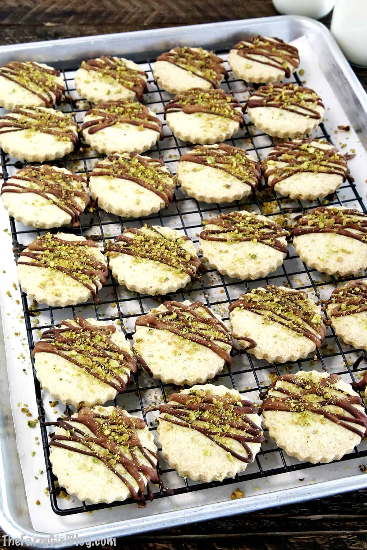 Rich, buttery, and crunchy Keto Gluten-Free Pistachio Shortbread Cookies are super delicious, without the naughty stuff. It's hard to tell that these are keto shortbread cookies, and aren't loaded with sugar and carbs unless you specifically mention it.